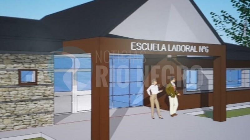 bariloche, escuela laboral 6