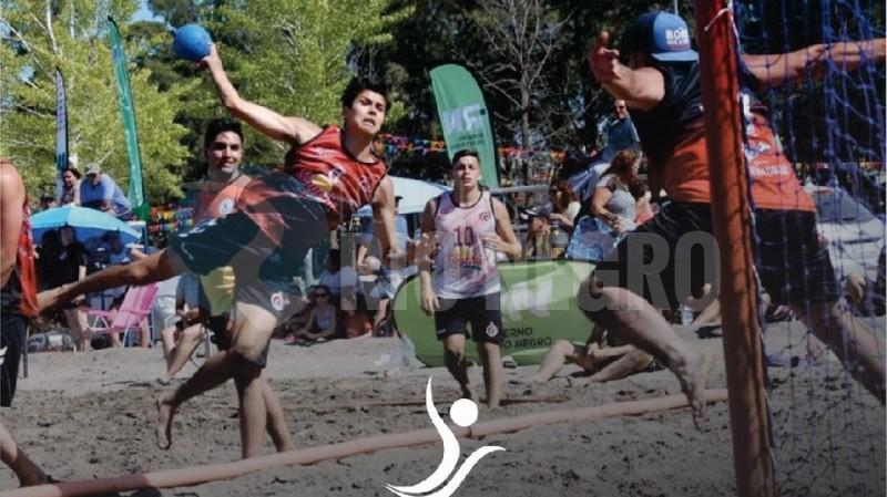 Beach Handball, arenas, copa argentina 2020, viedma