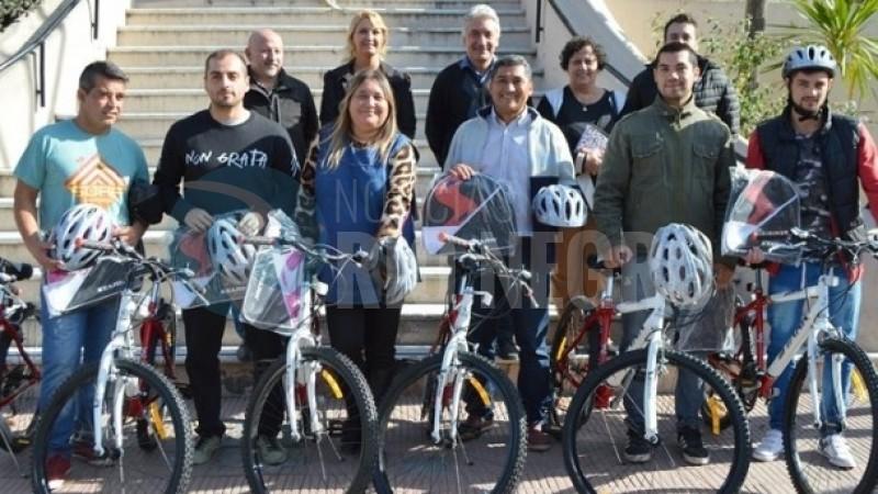 OPERADORES SOCIALES, PATAGONES, bicicletas