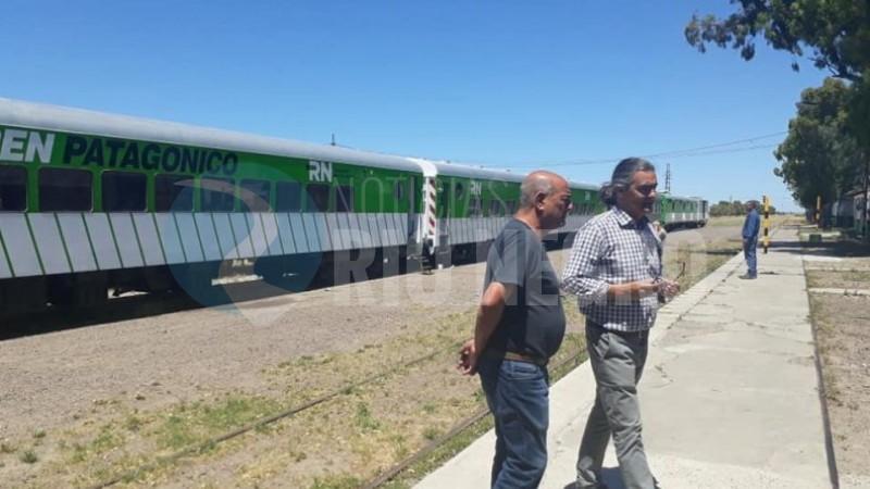 tren patagonico, carlos valeri