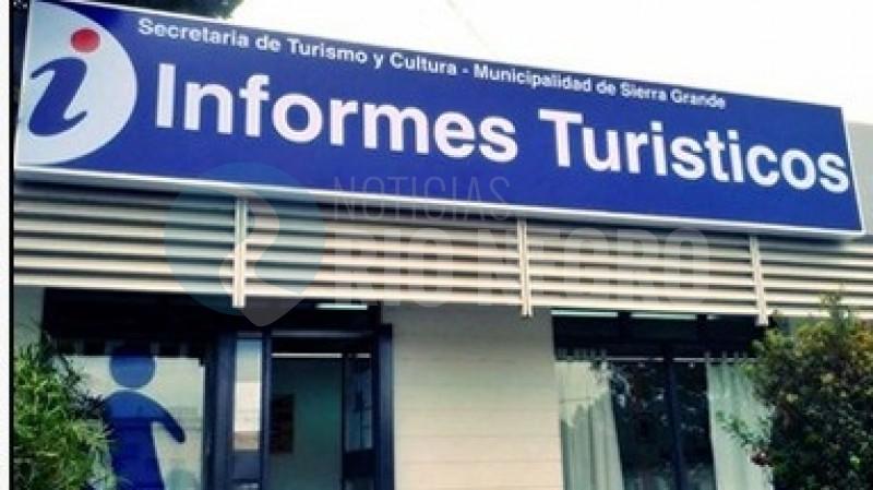 sierra grande, oficina de informes turisticos