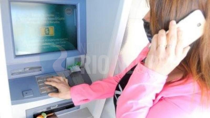 cajero automatico, estafa telefonica