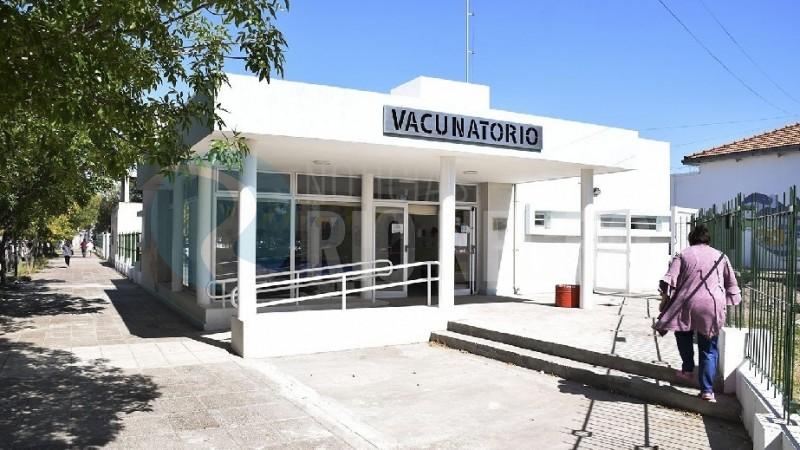 hospital zatti, vacunatorio
