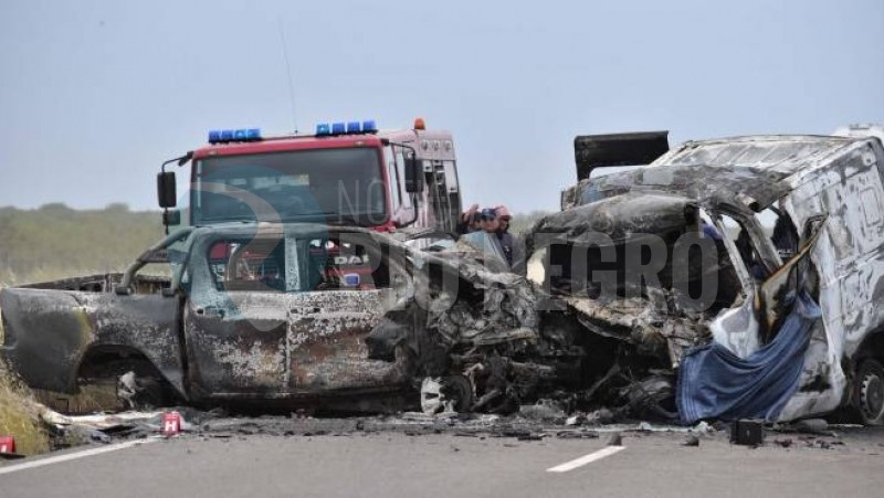 ruta 22, accidente fatal