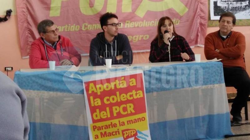 Partido del Trabajo y del Pueblo, magdalena odarda