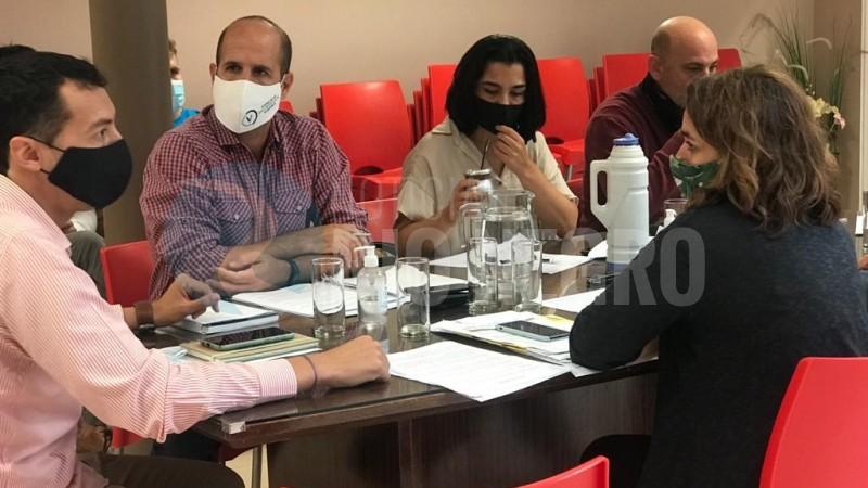 vanessa cacho, marco magnanelli, comision de ambiente, Concejo Deliberante