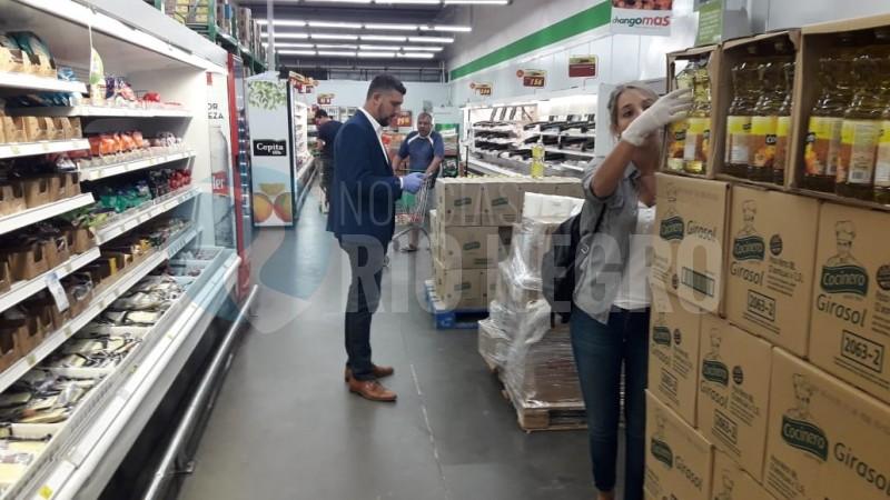 supermercado, controles