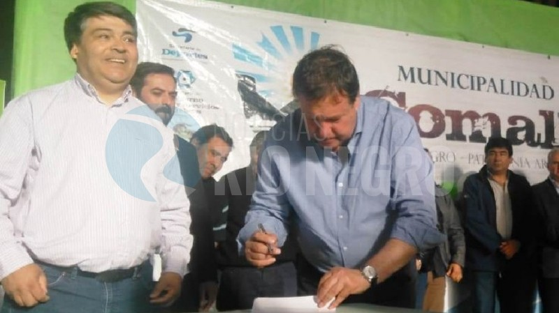 Weretilneck, comallo, firma, Raúl Hermosilla