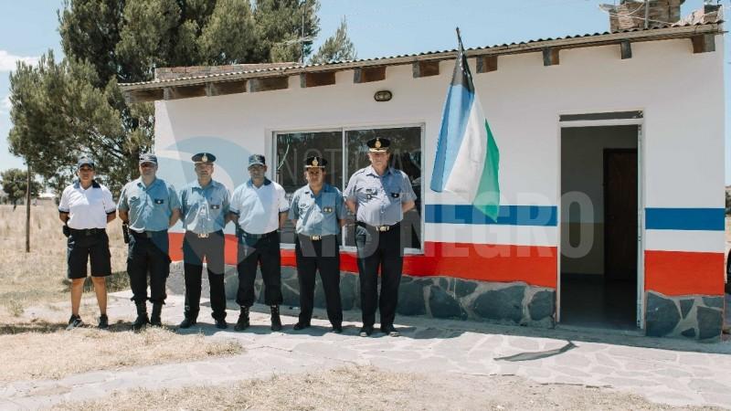el condor, policia, destacamento