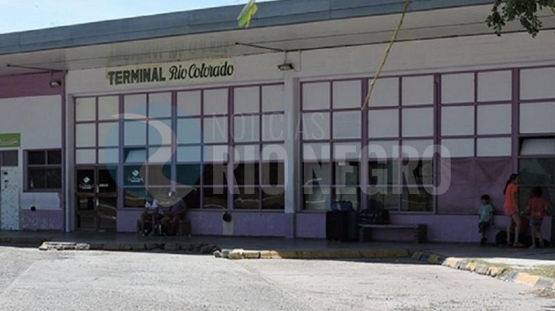 terminal, rio colorado