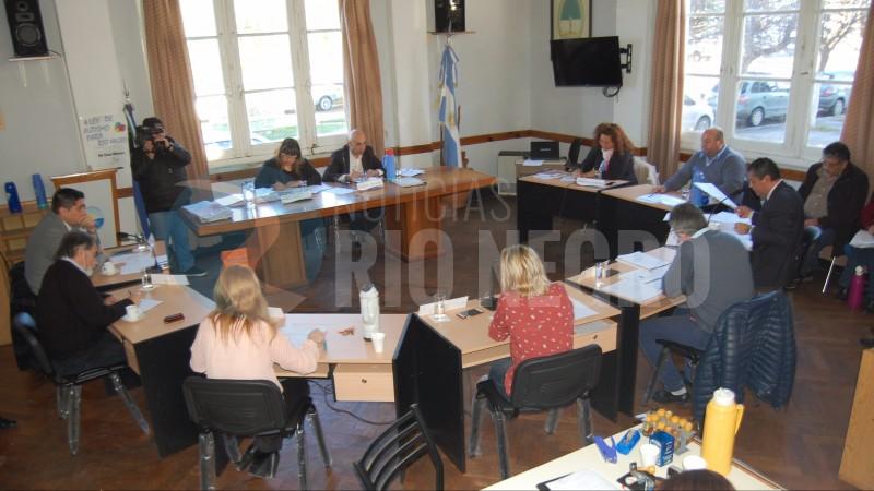 san antonio, Concejo Deliberante, sesion