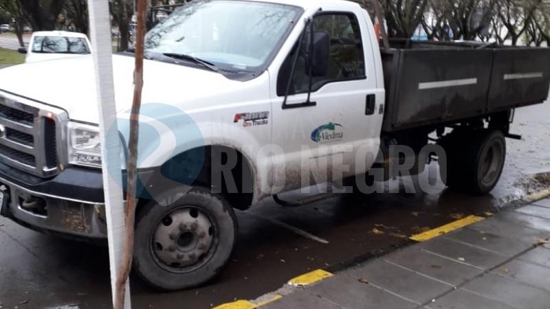 viedma, camion, municipalidad