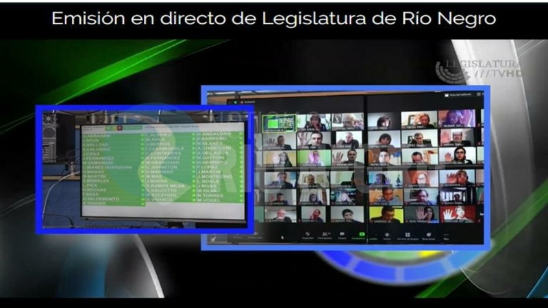legislatura, sesion virtual
