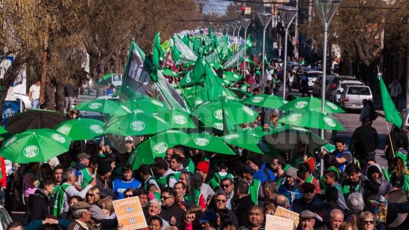 ATE, movilizacion, marcha