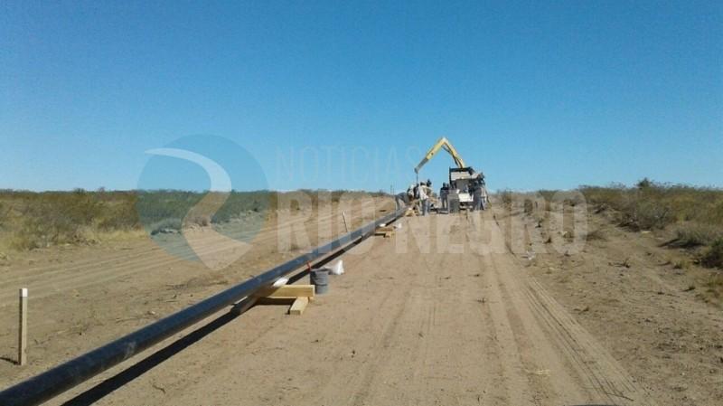Las Grutas, gasoducto, sao