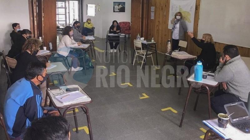 acompañamiento pedagogico, ESRN