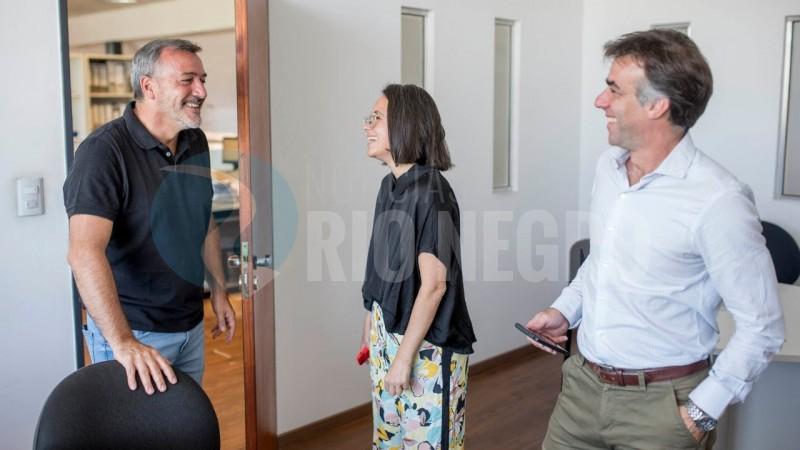 rodolfo aguiar, Diego Mel, Daiana Neri