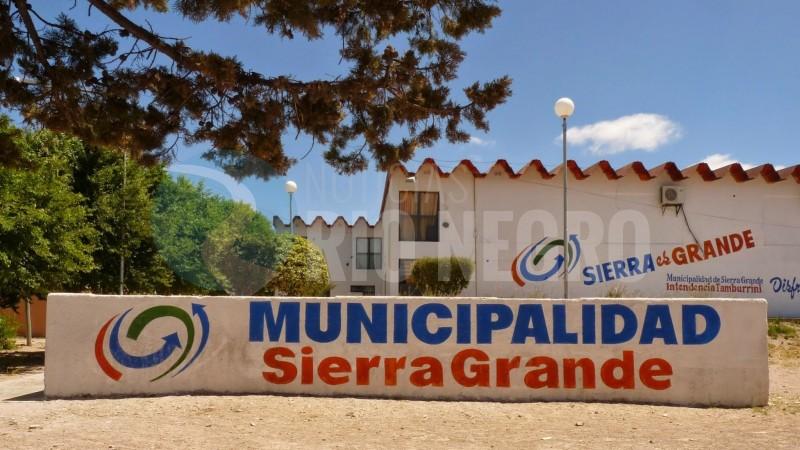 municipalidad, sierra grande