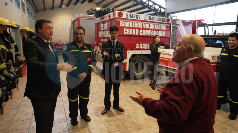Weretilneck, bomberos voluntarios