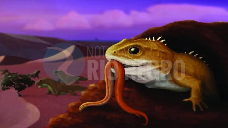 reptil patagónico