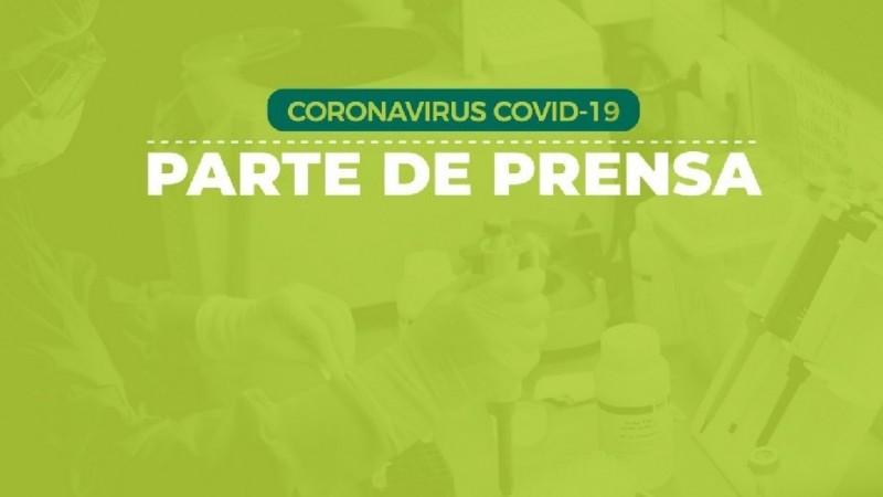 Coronavirus, parte de prensa