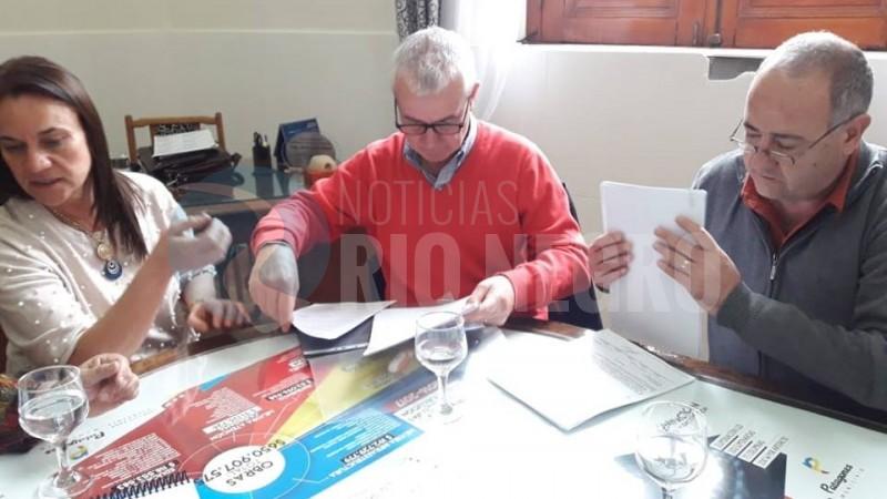 PATAGONES, licitacion, JORGE ISAAC, ROBERTO HAURE
