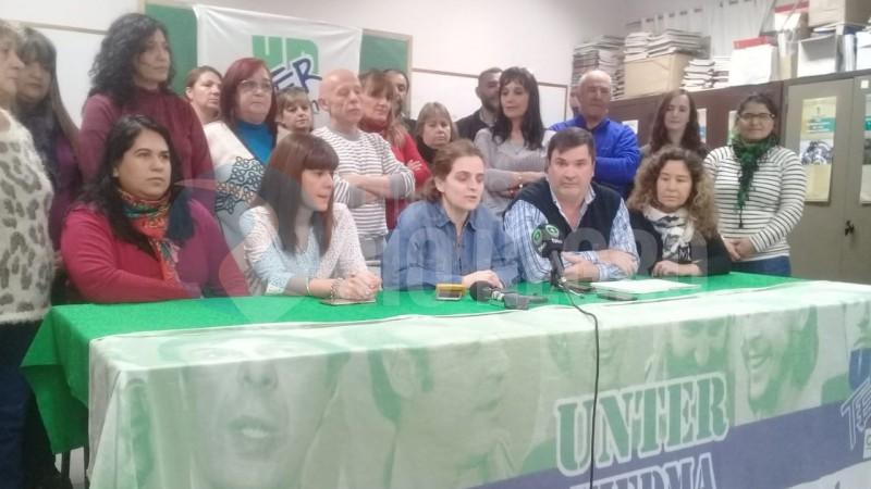 Unter, AZUL ARANCIBIA, MARIA CLARA BUSSO, MIGUEL NERVI