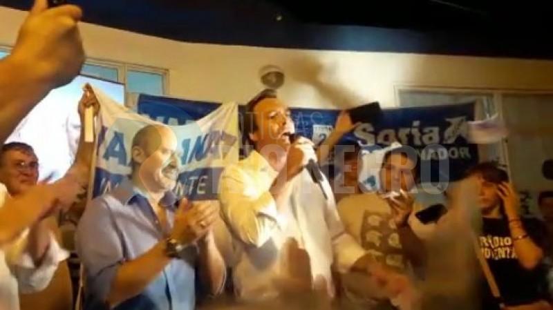 Martin Soria, villa regina, elecciones, intendente, Carlos Vazzana