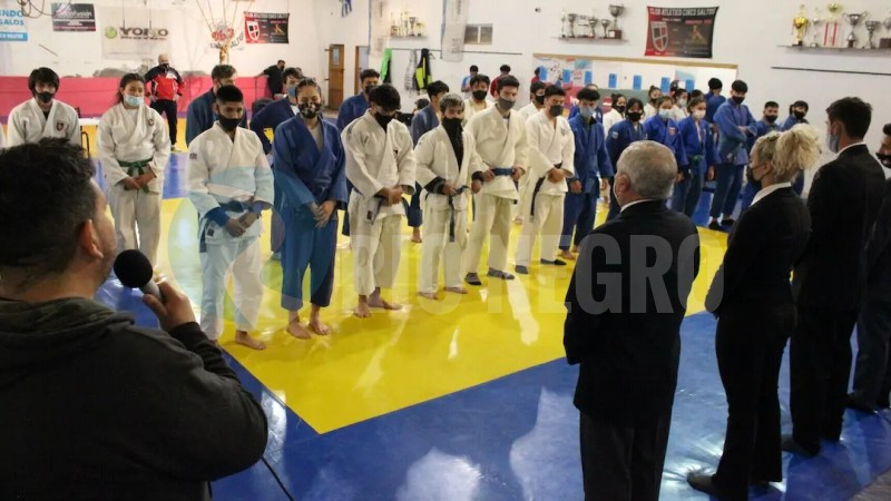 selección judo rionegrino