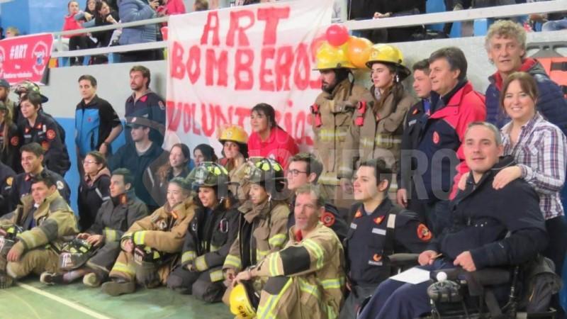 ART, bomberos voluntarios