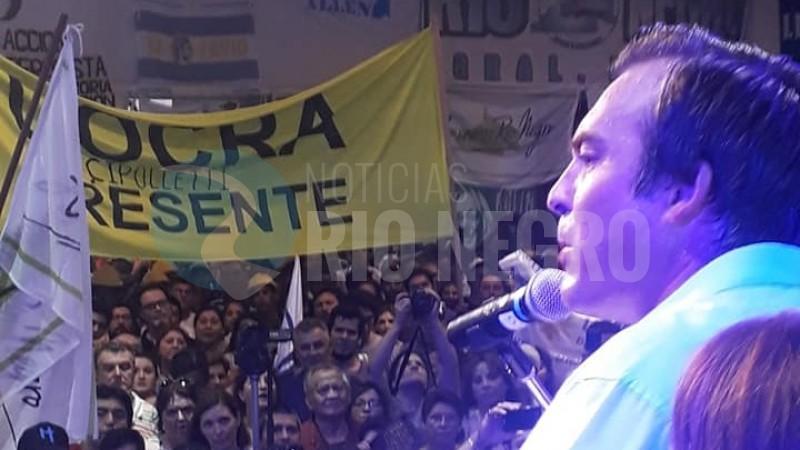 Martin Soria, lanzamiento, acto