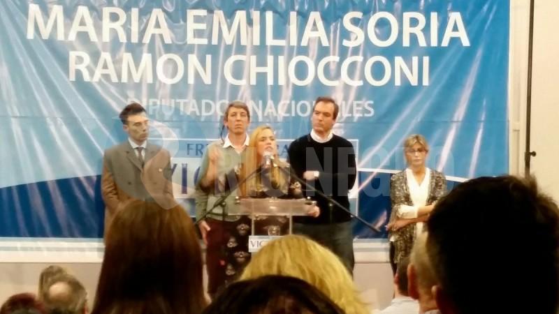 Martin Soria, MARIA EMILIA SORIA, acto, Ramón Chiocconi