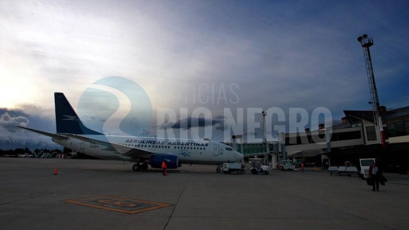 bariloche, avión, aerolineas argentinas
