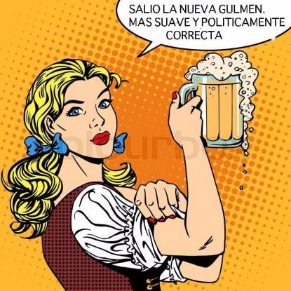 cerveza, gülmen