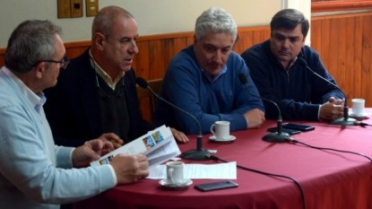 JOSE LUIS ZARA, JULIO COSTANTINO, MARCELO CASTRONOVO, EMILIANO BALBIN