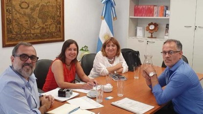 Mercedes Jara, Adrián Carrizo, Daniel Prades