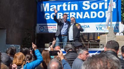 Martin Soria, julio accavallo, FRENTE GRANDE