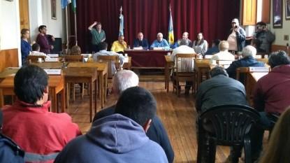 PATAGONES, Concejo Deliberante, sesion