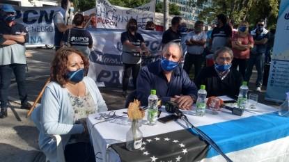 upcn, CONFERENCIA DE PRENSA