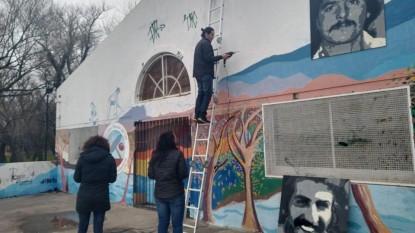 José Suracce, Julio García Casadei, murales