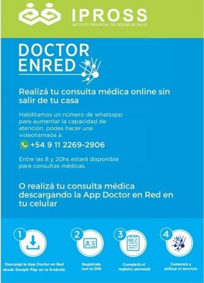 ipross, CONSULTAS VIRTUALES, DOCTOR EN RED