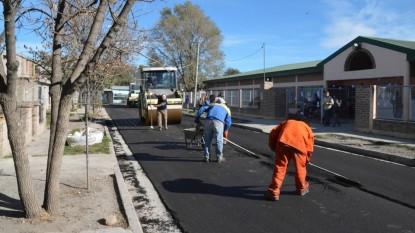 asfalto, pavimento, viedma, escuela 309