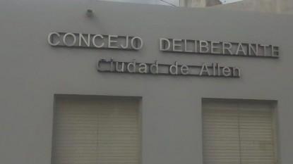 allen, Concejo Deliberante