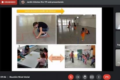 jardin de infantes, nivel inicial, clase virtual