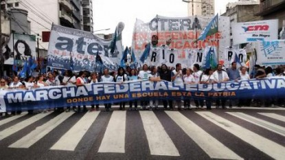 docentes, marcha federal