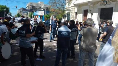 upcn, manifestacion, PROTESTA