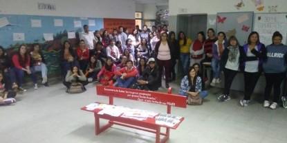 banco rojo, escuela 319