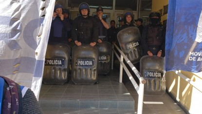 PROTESTA, general roca, policia