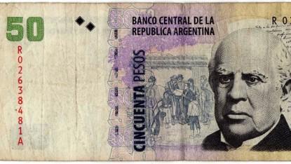 billete, 50 pesos