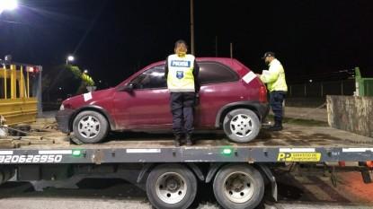 PATAGONES, auto secuestrado